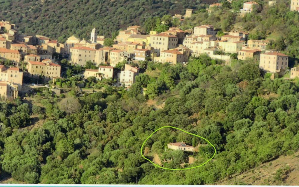 emplacement par rapport au village