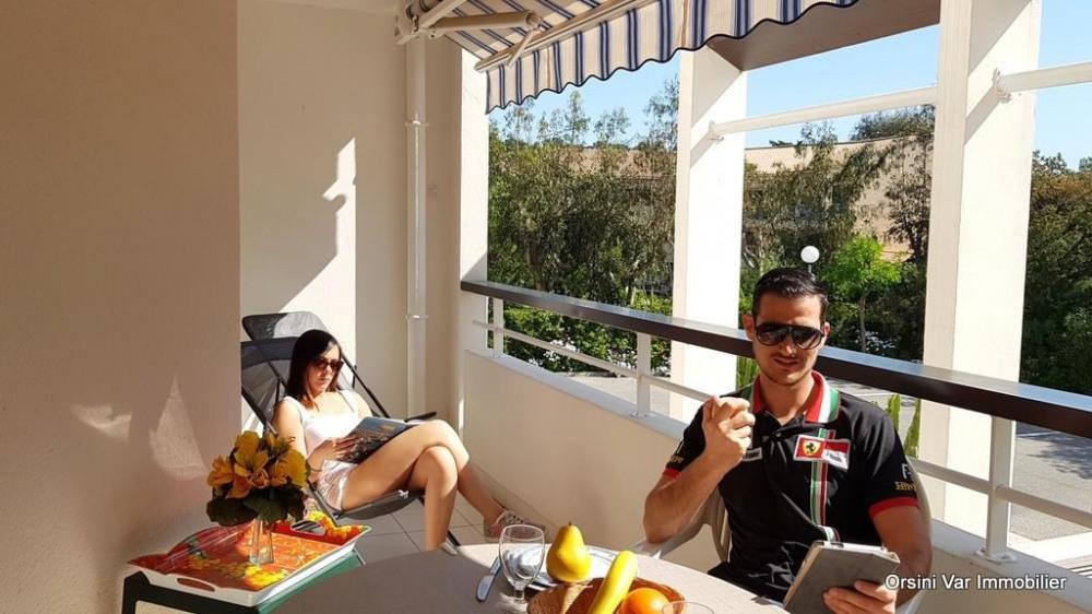 Location vacances Saint-Raphaël -  Appartement - 4 personnes - Chaise longue - Photo N° 1