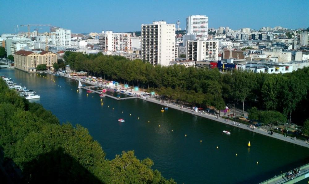 Vue panoramique sur Paris