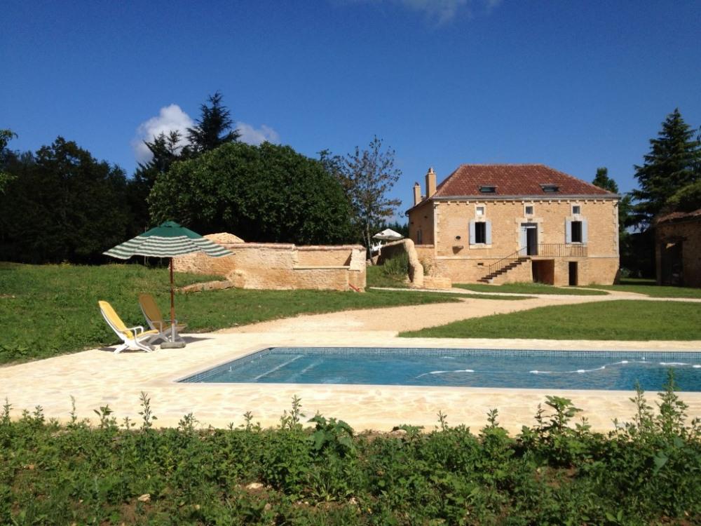 Villa 9 personnes avec piscine privée