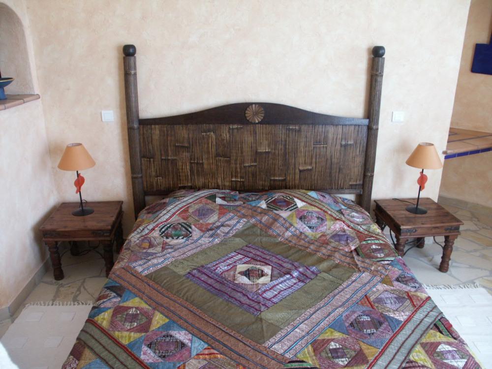 Une chambre de la villa 2