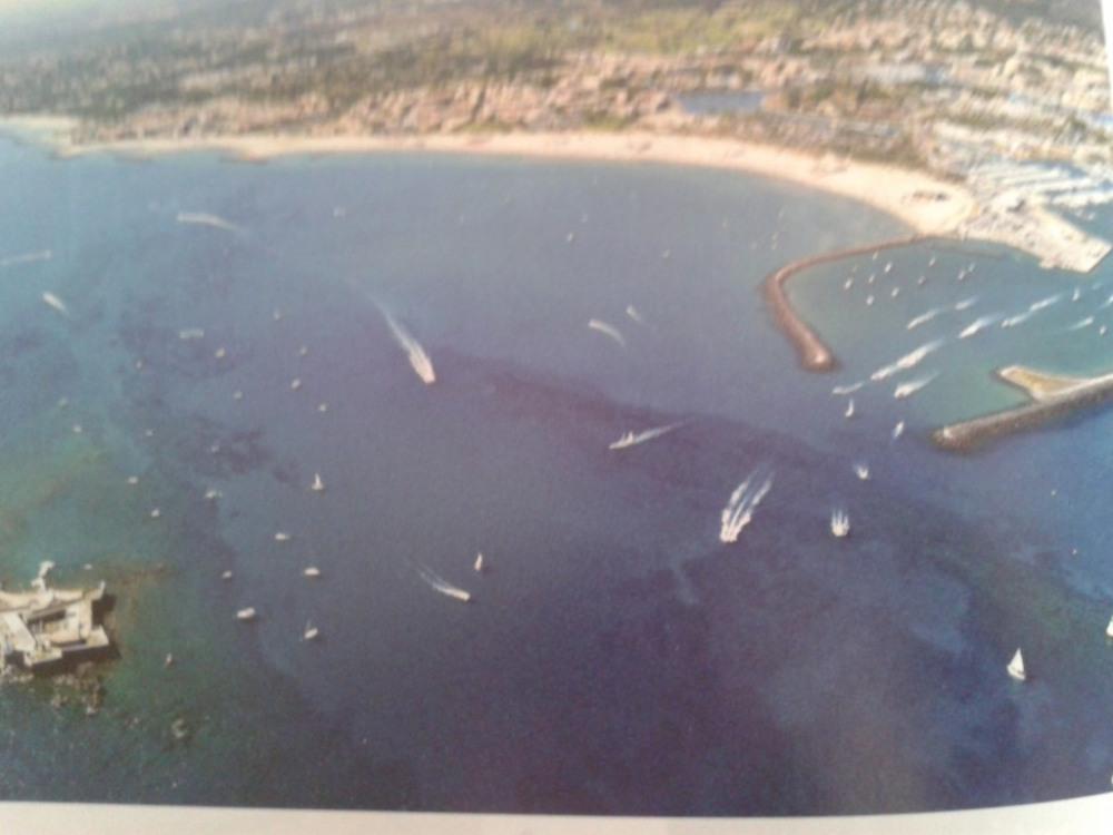 Vue aérienne Brescou Cap d'Agde
