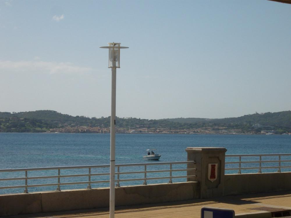 Vue sur St Tropez