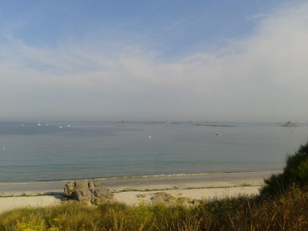 plage près des gîtes