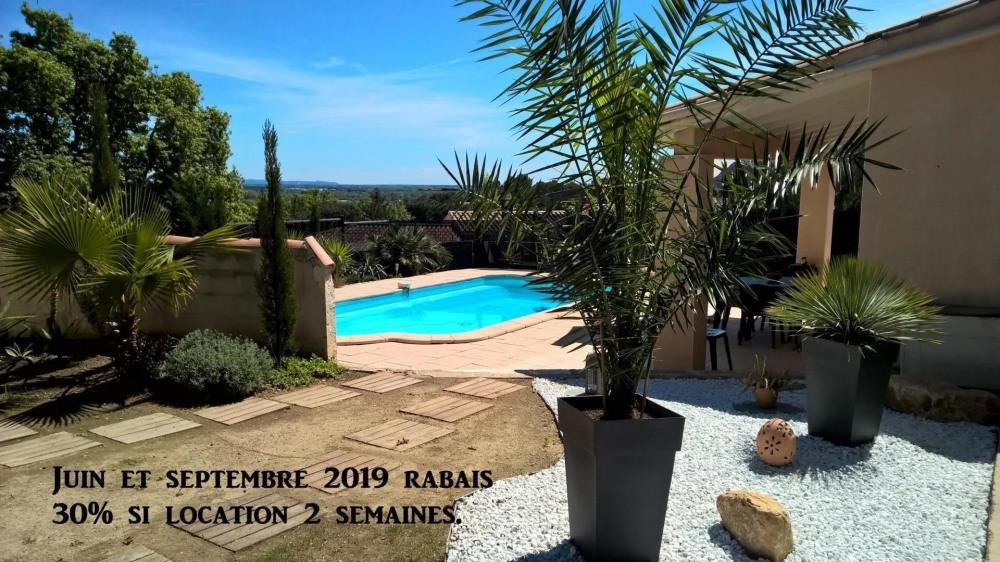 Location vacances Nîmes -  Maison - 6 personnes - Barbecue - Photo N° 1