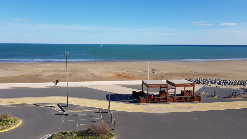 Totale vue mer: Appartement - NARBONNE-PLAGE