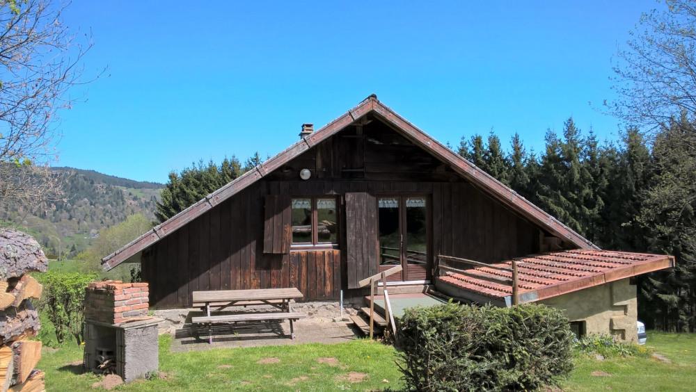 Chalet la Grange*** indépendant situé au calme sur les hauteurs de Soultzeren en lisière de forêt...