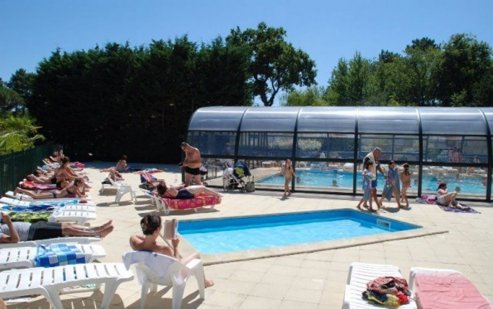 Camping LA CLAIRIERE - MH 2ch 5/6pers 25m² + Terrasse Intégrée