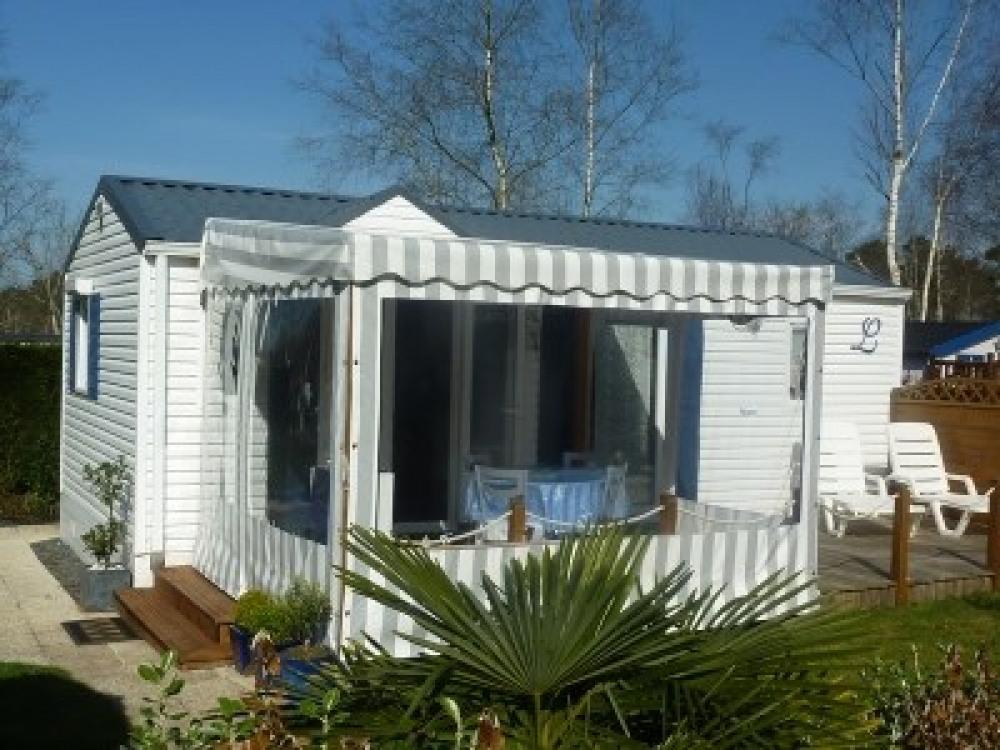 Mobilhome grand Confort dans Camping Résidentiel - Pont l'Abbé