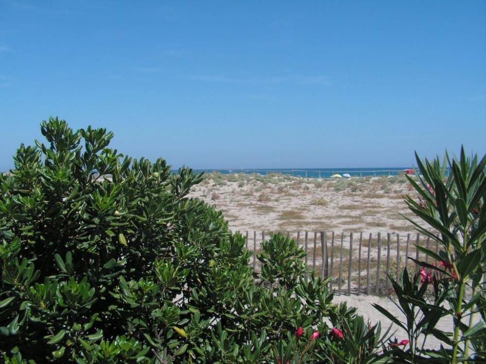 vue sur mer depuis terrasse principale