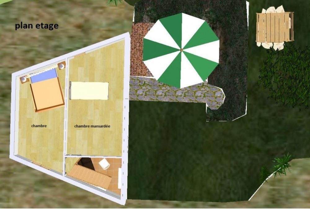plan de la location etage