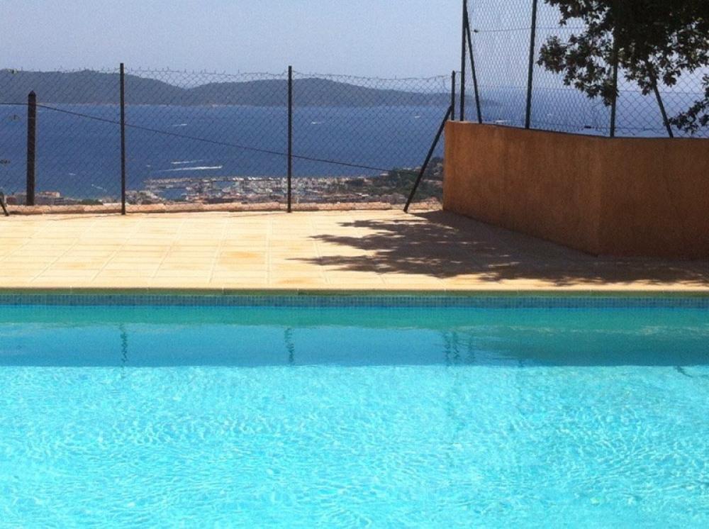 vue de la piscine commune