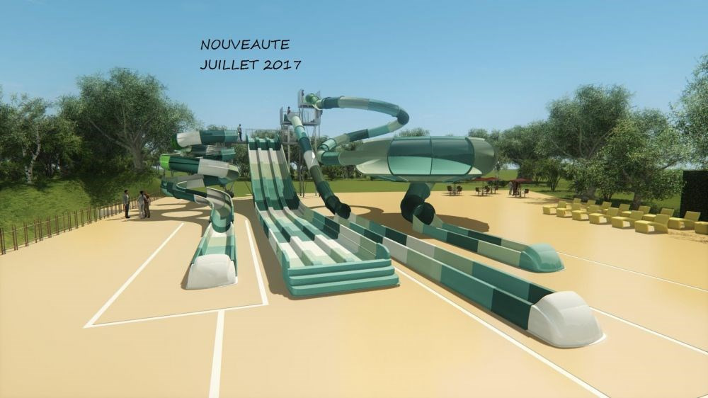 Camping Le Chaponnet, 90 emplacements, 75 locatifs