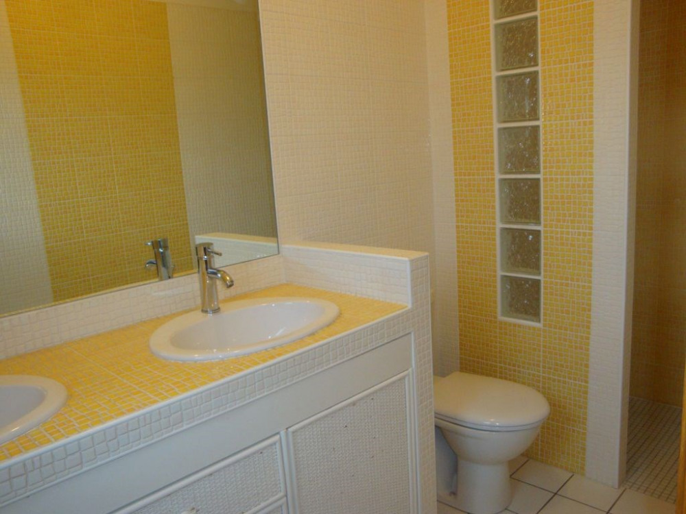 Salle de bain suite parentale Douche italienne Double vasques WC