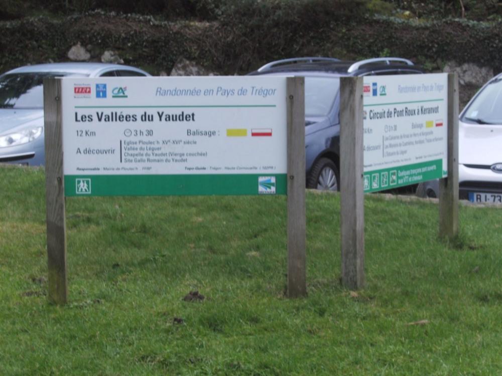 circuits de randonnée en Vallée du Yaudet