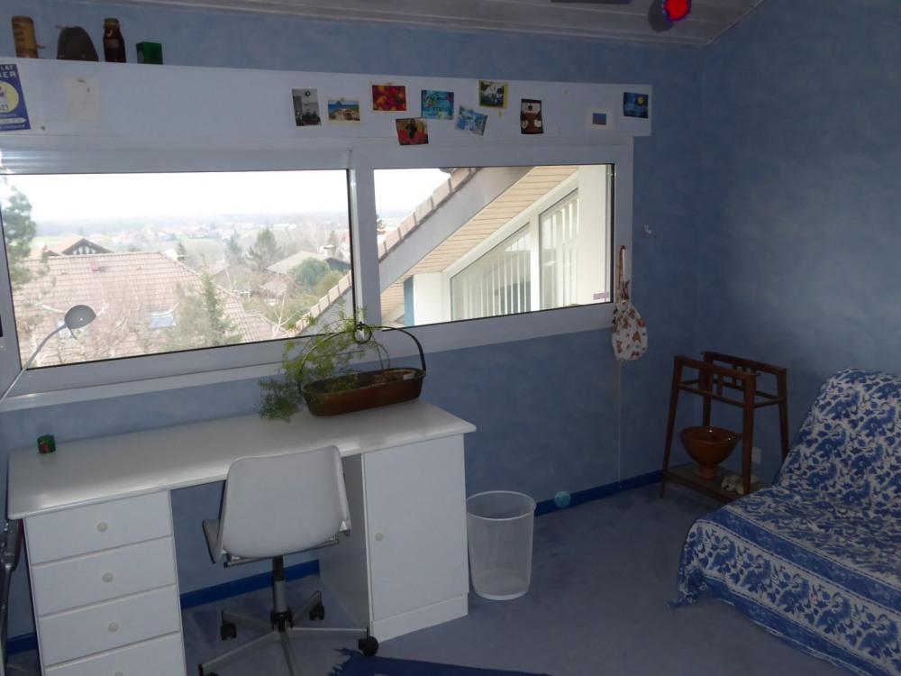 chambre vue sur Geneve