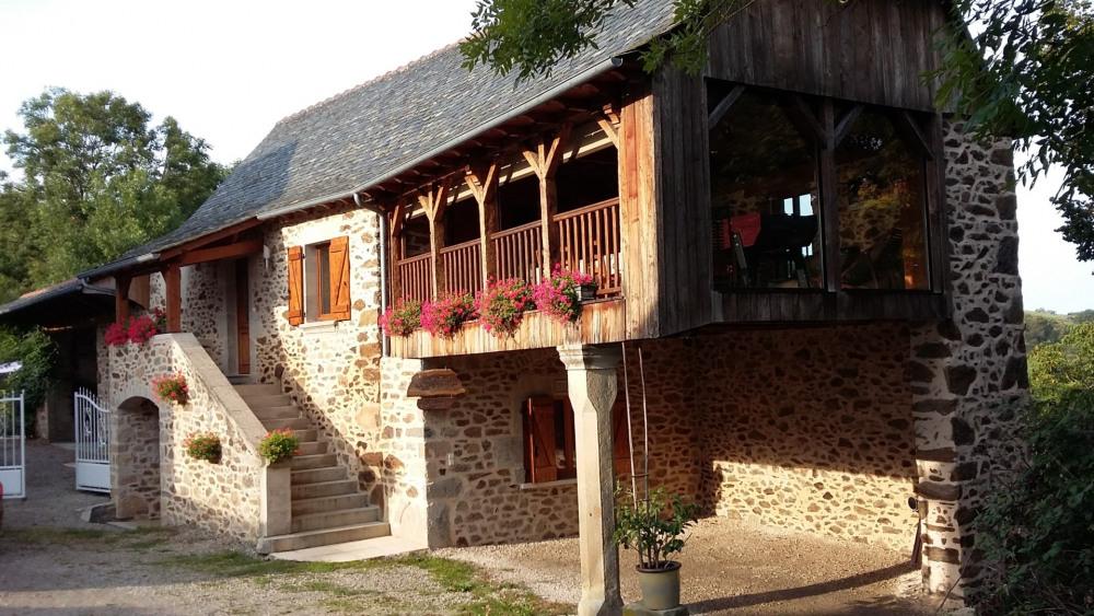 Ferienwohnungen La Bastide-l'Évêque - Hütte - 6 Personen - Grill - Foto Nr. 1