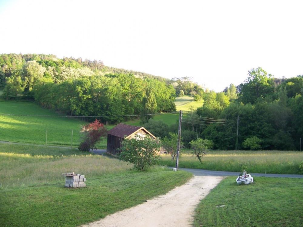 Une vue sur la campagne