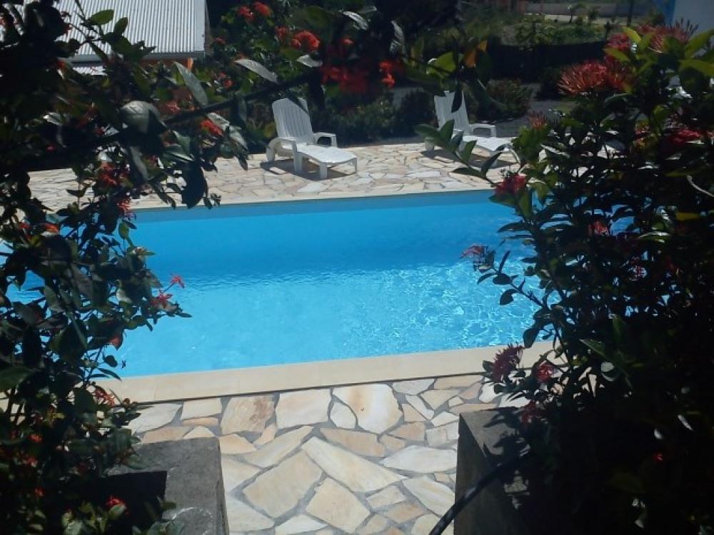 Location de bungalow   en Guadeloupe - Saint François