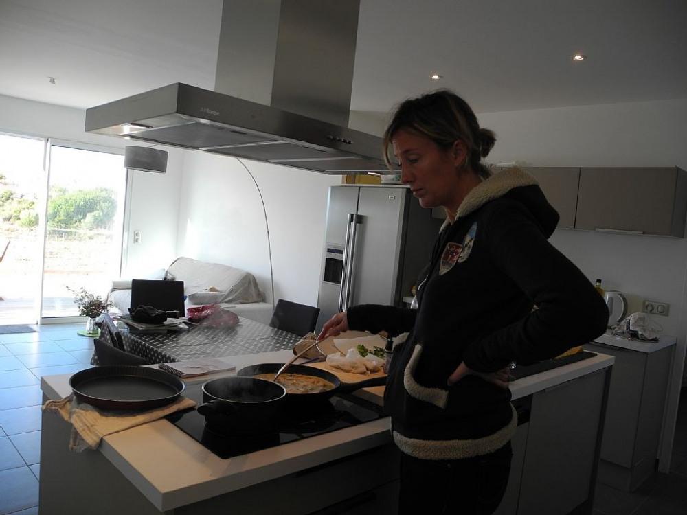 séjour/cuisine RDJ