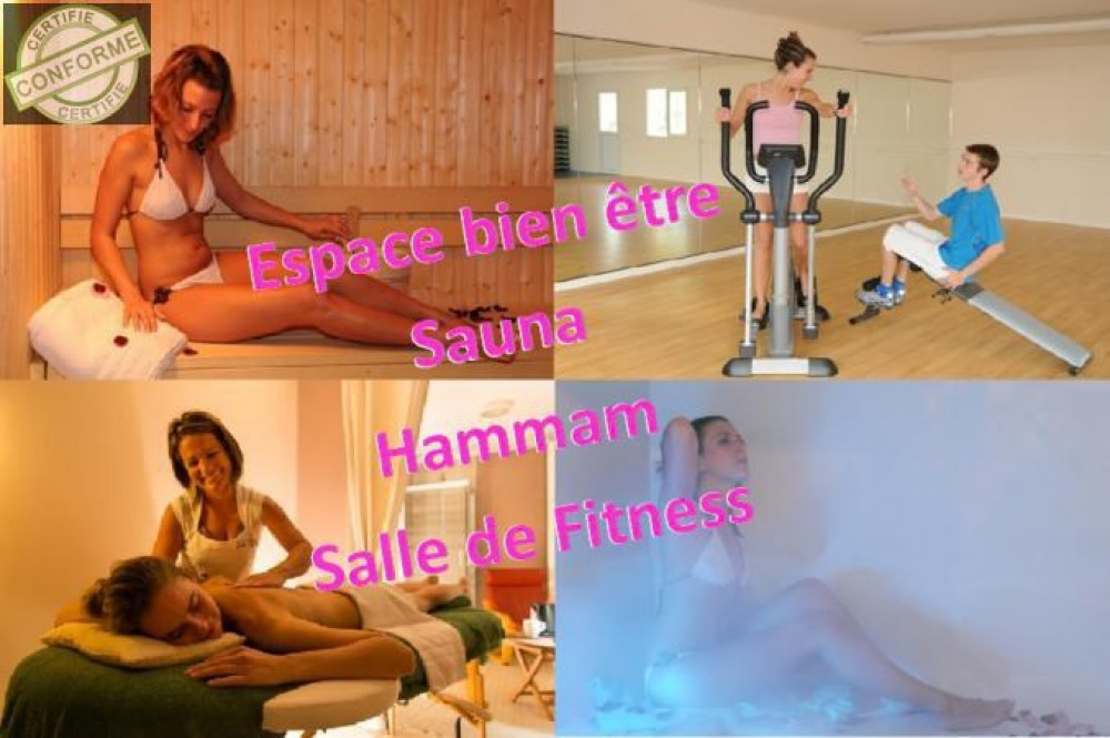 Espace Bien être, Fitness, Sauna, Hammam