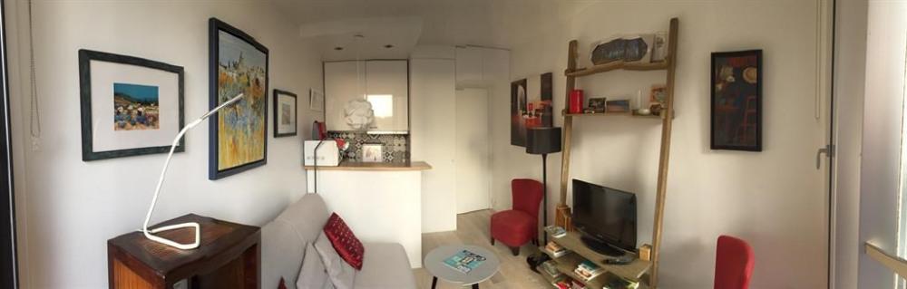 Studio pour 2 pers. avec internet, Boulogne-Billancourt