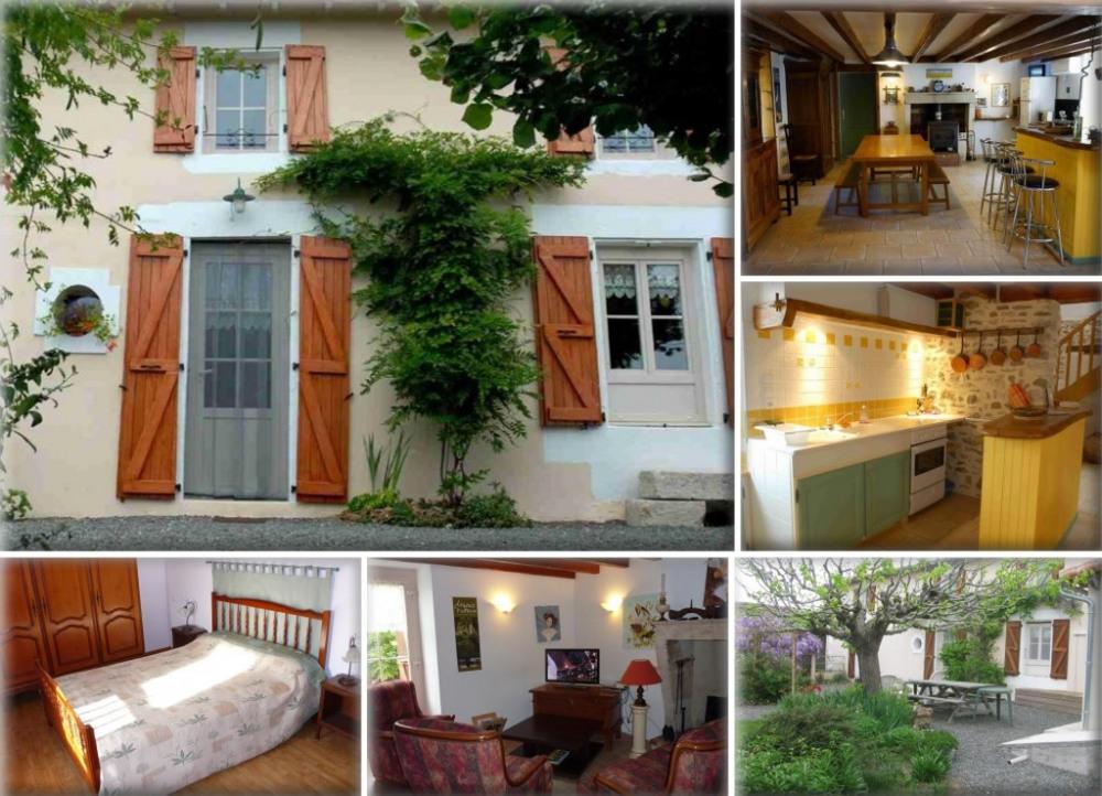 Location de vacances à Exireuil, Deux-Sèvres, Poitou-Charentes, France