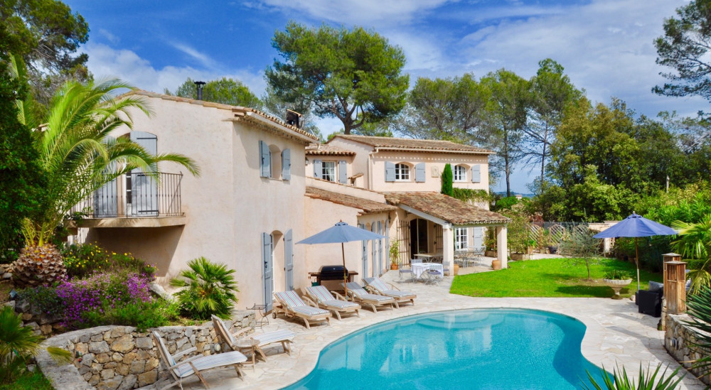 Location vacances Grasse -  Maison - 10 personnes - Barbecue - Photo N° 1