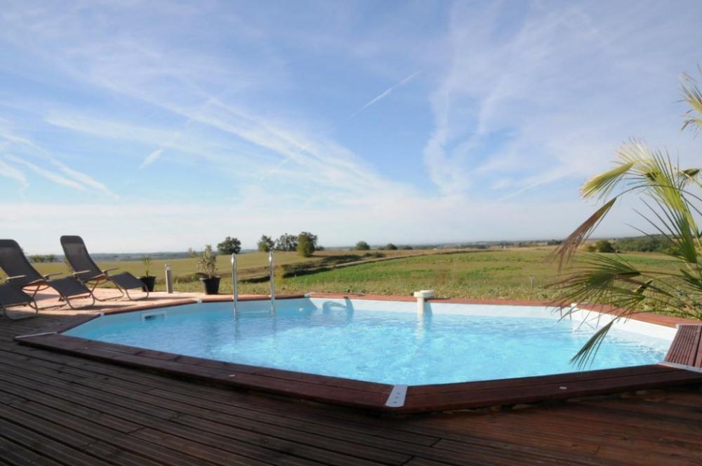 Une piscine juste pour vous!