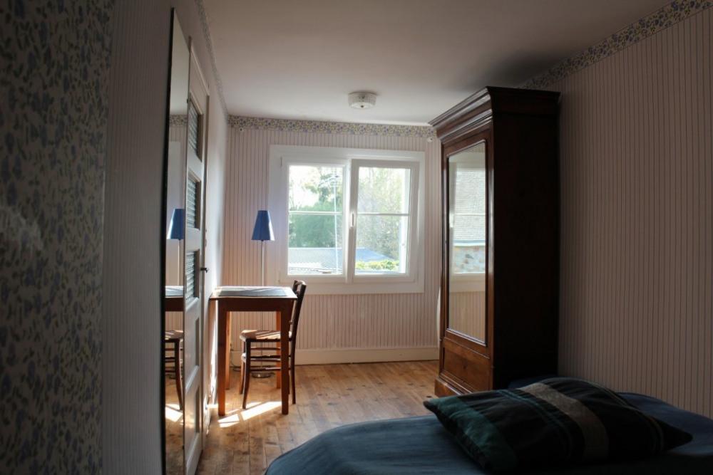chambre bleue étage
