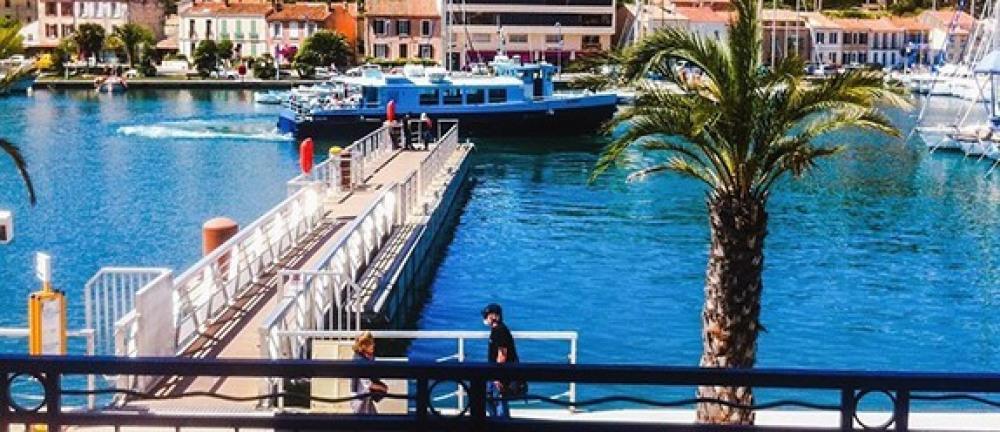 bateau navette vers Toulon
