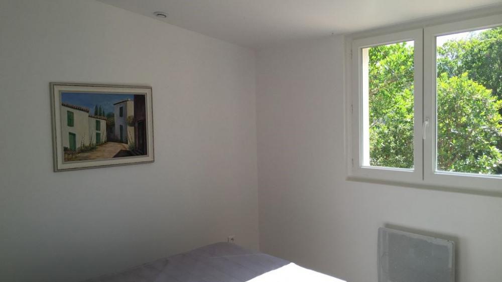 Deuxième chambre avec 2 lits de 90 cm