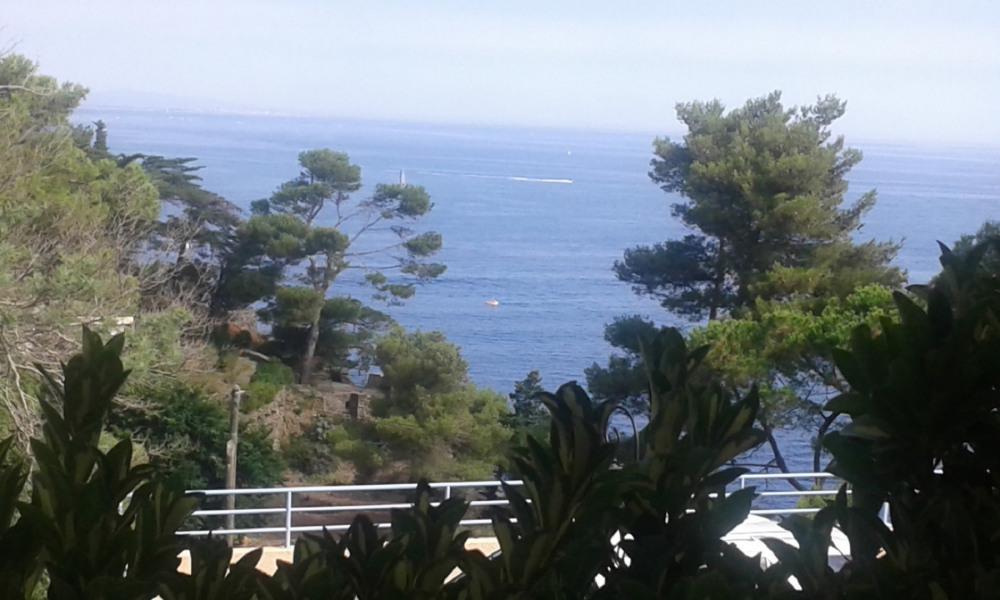 Studio/cabine  sur une crique à Collioure
