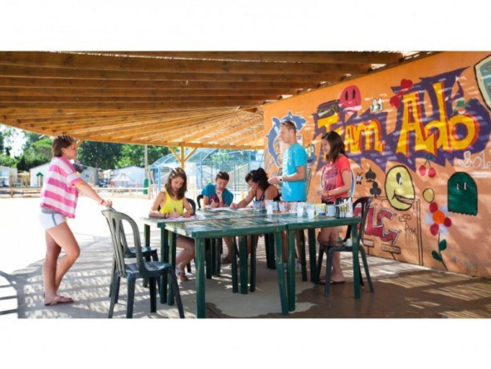 Camping Club Le Littoral  5* - Mobil-home 6 personnes - 2 chambres, FIDJI (entre 6 et 10 ans) (Max. adultes: 4)