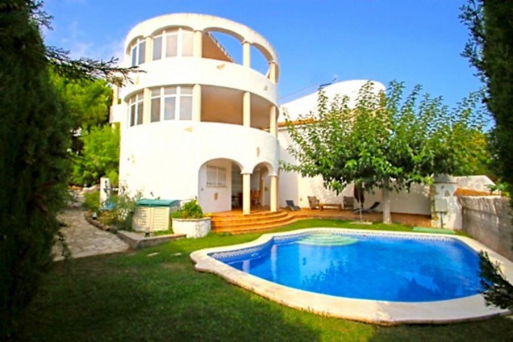 B23 POMA villa adosada, piscina privada y jardín