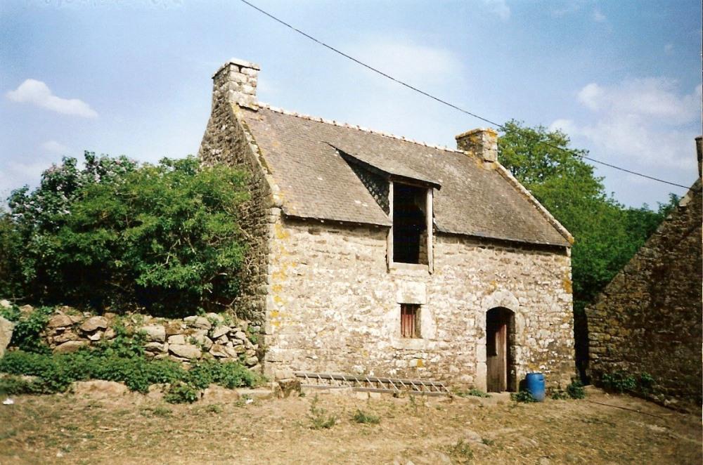 gîte du 18ème siècle avant rénovation