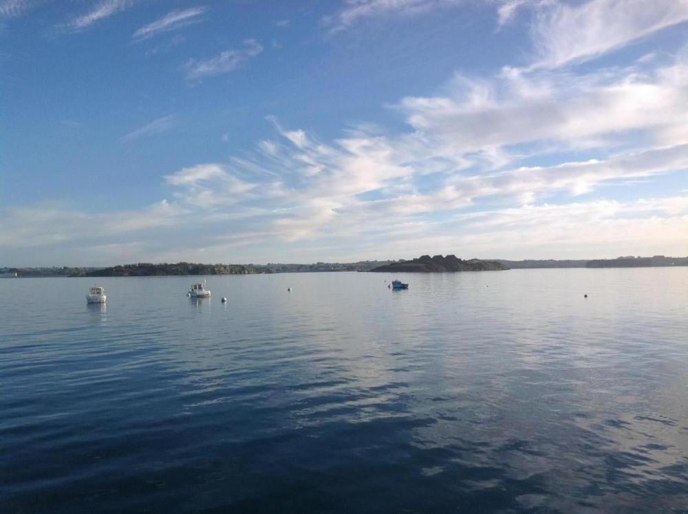 les îles vue de Roscanvel