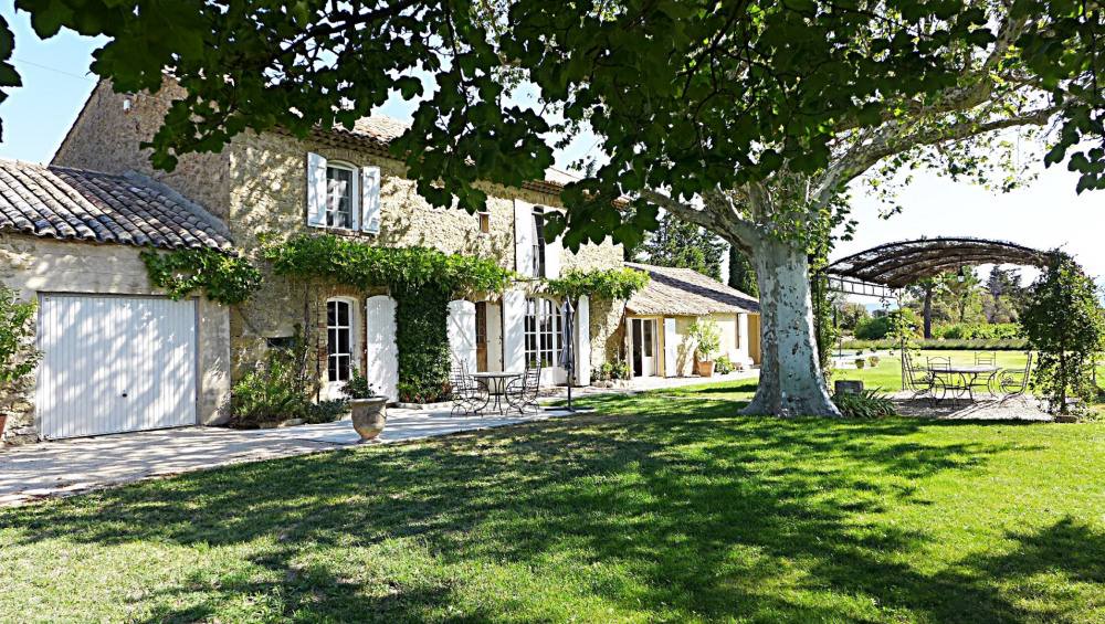 Holiday rentals Travaillan - House - 8 persons - BBQ - Photo N° 1