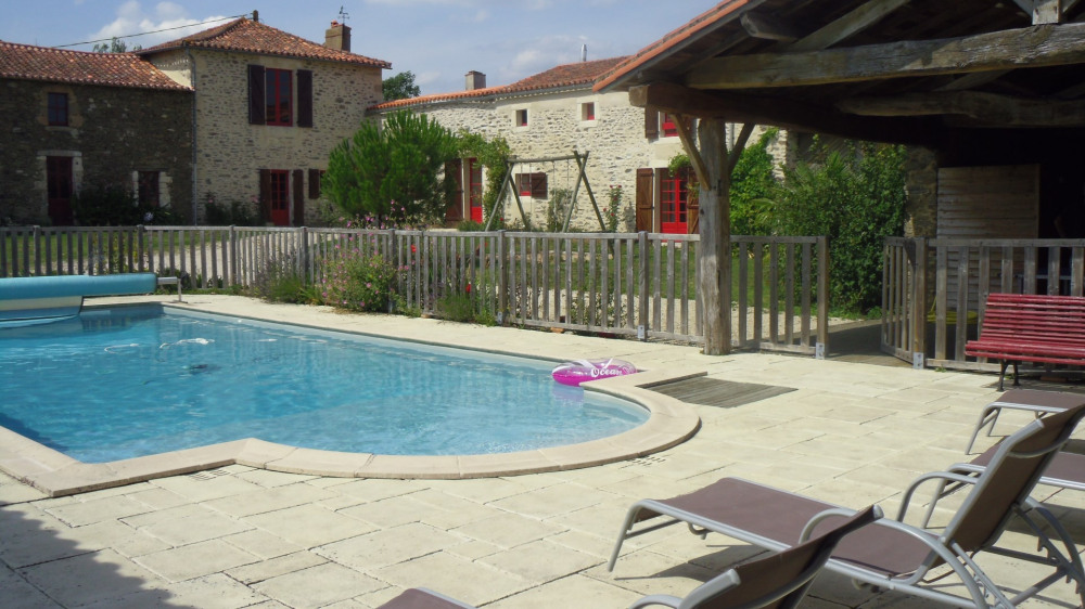 Holiday rentals Château-Guibert - Cottage - 8 persons - BBQ - Photo N° 1