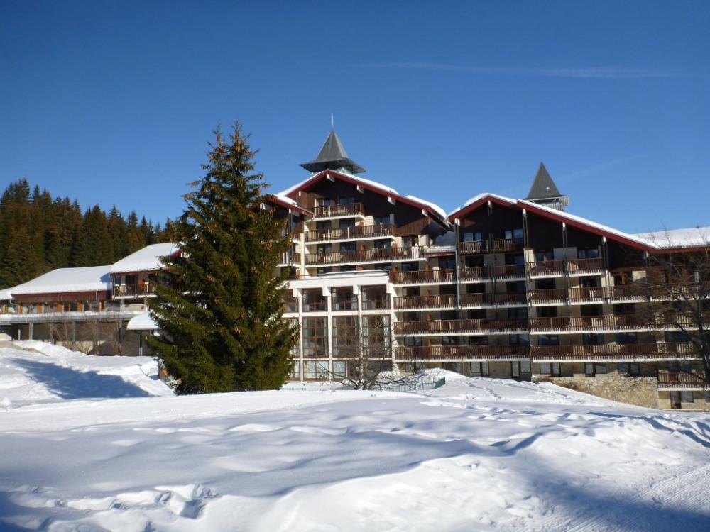 Les Terrasses du Mt Blanc, façade ouest