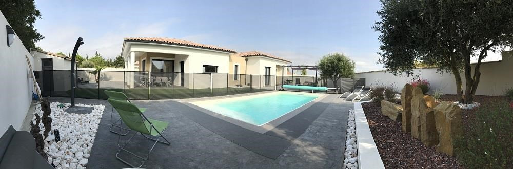 Location vacances Pinet -  Maison - 6 personnes - Barbecue - Photo N° 1