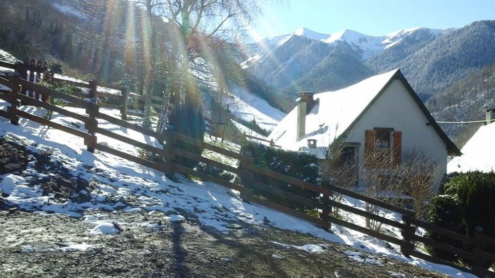 Le chalet aux premières neiges