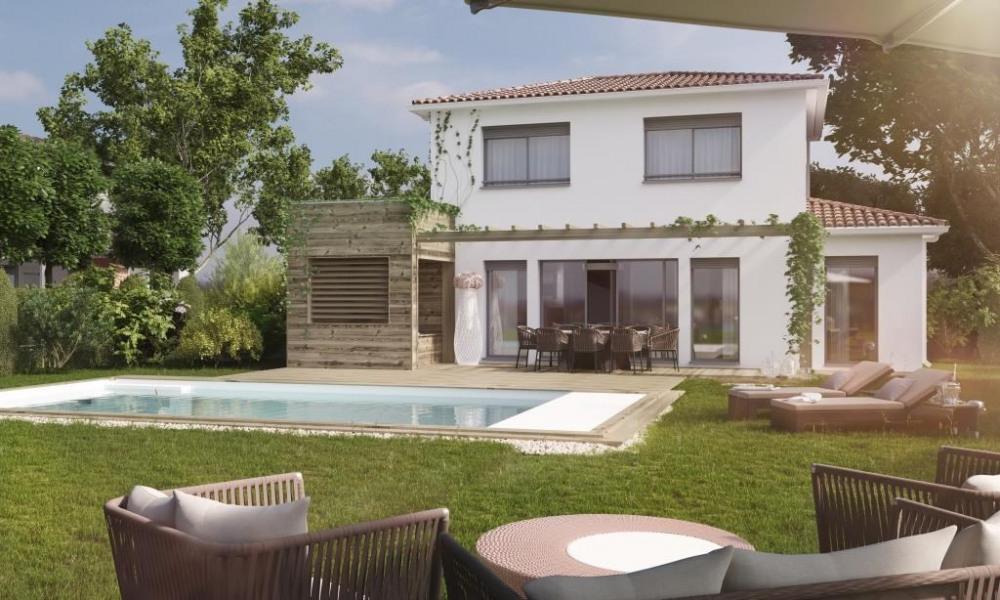 Villa 5 pieces avec 4 salles d'eau/salles de bains avec piscine et jacuzzi sur le terrasse