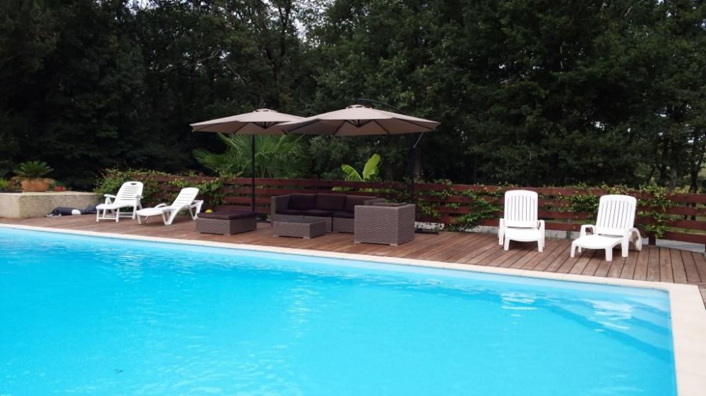La piscine (12X8 m )