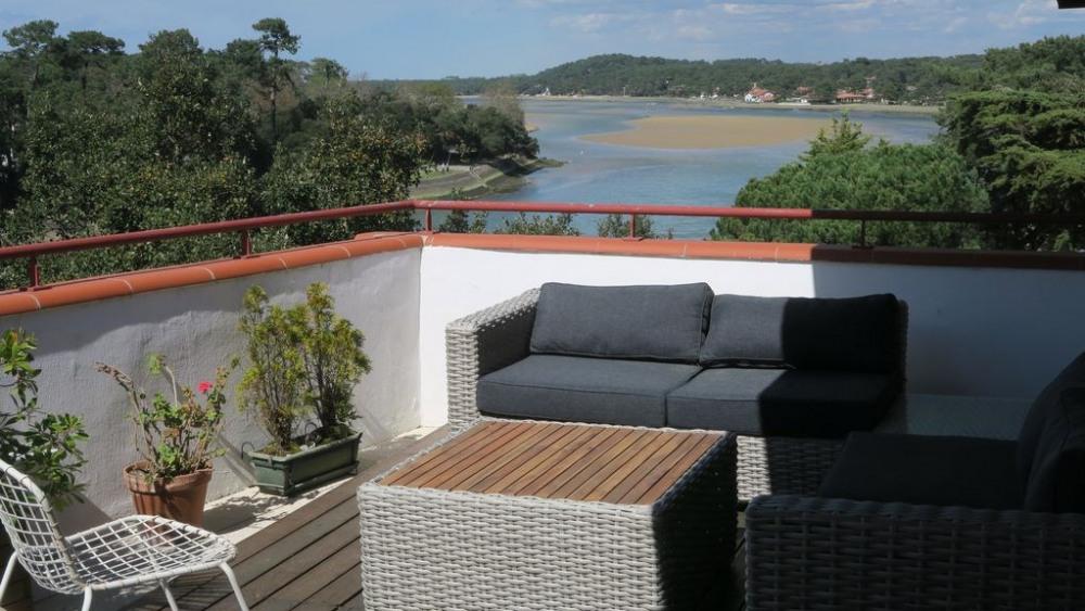 Location vacances Soorts-Hossegor -  Appartement - 6 personnes - Salon de jardin - Photo N° 1