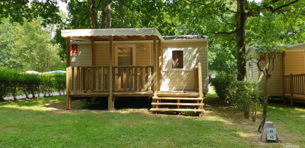 Holiday rentals Saint-Cast-le-Guildo - Camping - 5 persons - BBQ - Photo N° 1