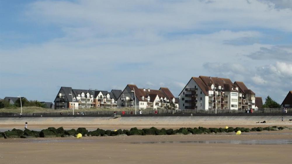 la résidence depuis la mer