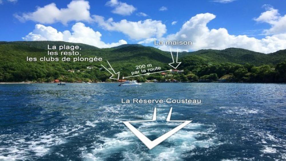 Location Face à La Réserve Cousteau