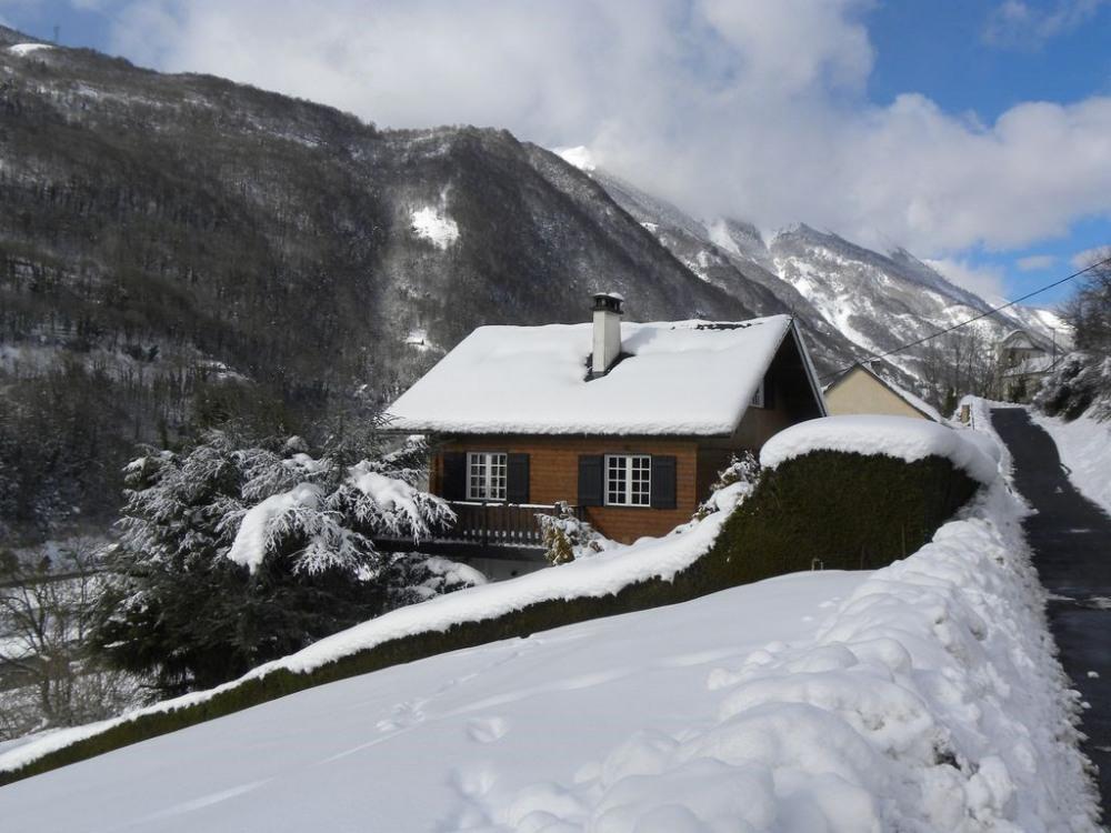 vue de la route en hiver