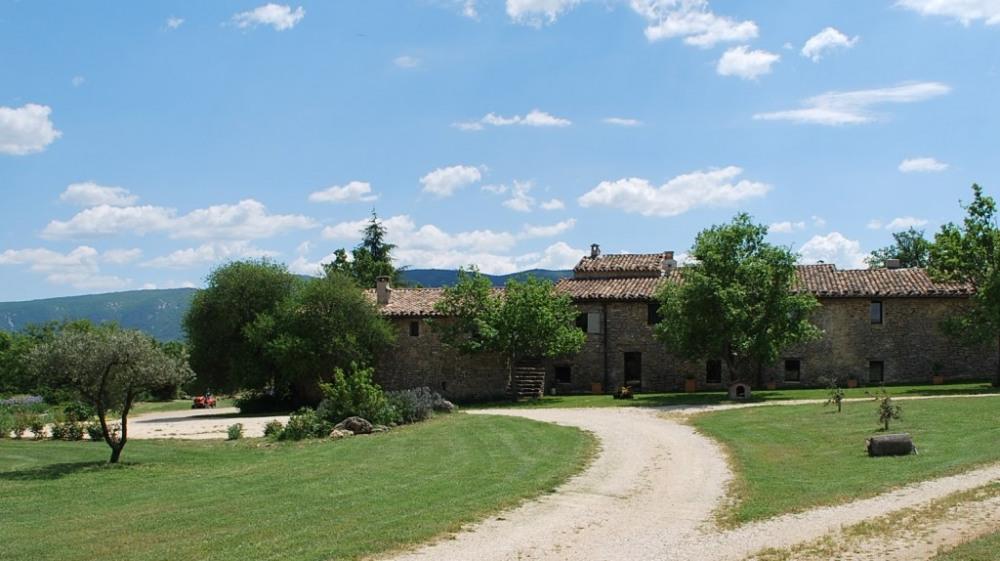 Domaine vue Luberon
